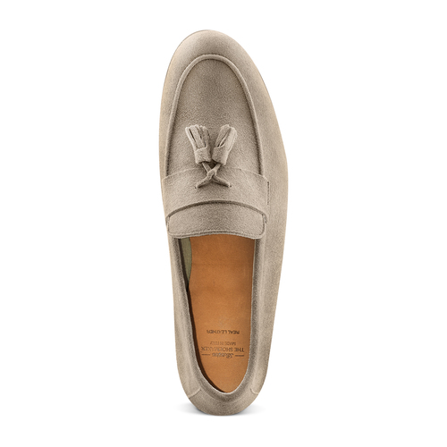 Mocassini con nappa bata-the-shoemaker, marrone, 853-3140 - 17