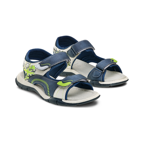 Sandali da bimbo mini-b, blu, 361-9239 - 16