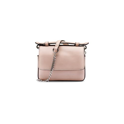 Minibag in similpelle bata, beige, 961-8277 - 26