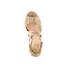 Sandali con tacco insolia, beige, 769-8263 - 17