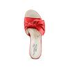 Ciabatte con tacco bata-touch-me, rosso, 664-5303 - 17