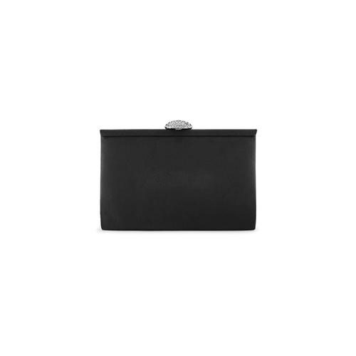 Pochette con tracolla bata, nero, 969-6320 - 26