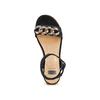 Sandali con zeppa bata, nero, 669-6353 - 17