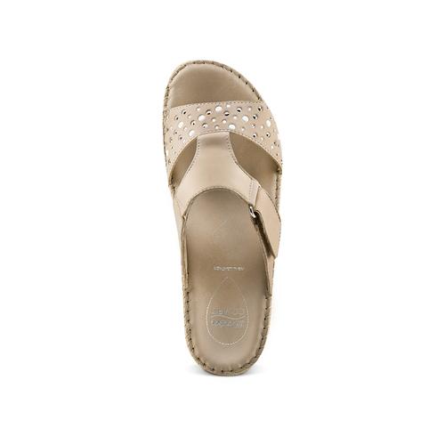 Ciabatte Comfit bata-comfit, beige, 574-3438 - 17