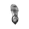 Sandali con strass mini-b, nero, 361-6166 - 17