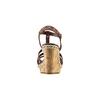 Sandali con borchie bata, marrone, 761-4235 - 15