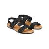 Sandali con strass bata, nero, 569-6256 - 16