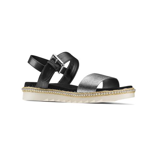 Sandali bassi bata, bianco, 561-1361 - 13