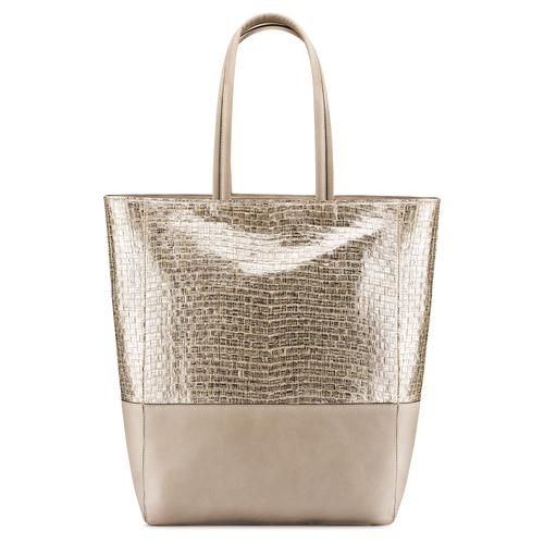 Shopper da donna bata, oro, 969-1214 - 26