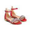 Sandali con cinturino bata, rosso, 569-5208 - 16