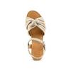 Sandali con fiocco bata, marrone, 763-3271 - 17