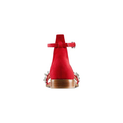 Sandali con cinturino bata, rosso, 569-5208 - 15