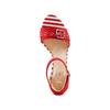 Sandali con tacco largo insolia, rosso, 769-5245 - 17