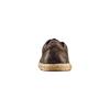 Stringate in pelle bata, marrone, 854-4206 - 15