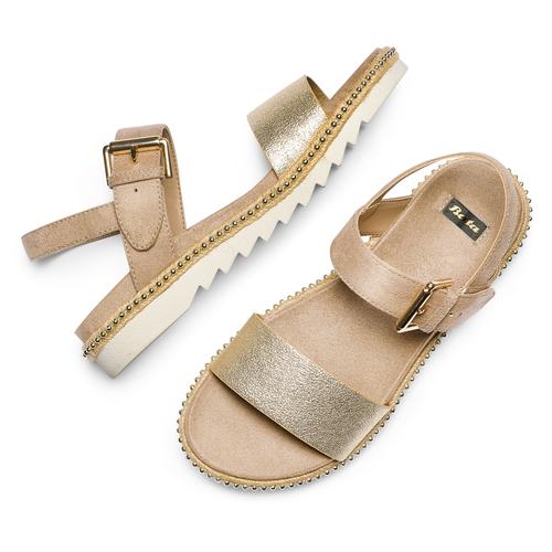 Sandali da donna bata, beige, 569-8361 - 26