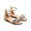 Sandali con cinturino bata, beige, 569-8208 - 16