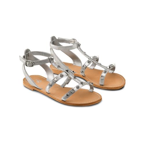 Sandali da bambina mini-b, grigio, 369-2209 - 16