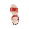 Sandali in pelle bata-touch-me, rosso, 664-5298 - 17