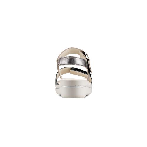 Sandali da donna bata-touch-me, argento, 564-2354 - 15