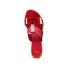 Ciabatte con tacco bata, rosso, 671-5835 - 17