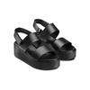 Sandali Platform bata, nero, 664-6230 - 16
