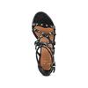 Sandali con borchie bata, nero, 664-6296 - 17