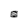 Sandali con borchie bata, nero, 561-6245 - 15