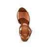Sandali con zeppa bata, marrone, 764-3116 - 17