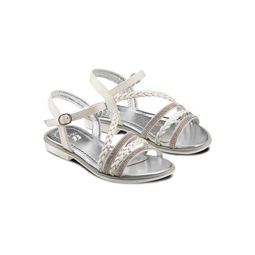 Sandali da bambina mini-b, argento, 361-1197 - 16