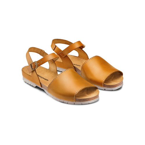 Sandali in vera pelle weinbrenner, marrone, 564-3161 - 16