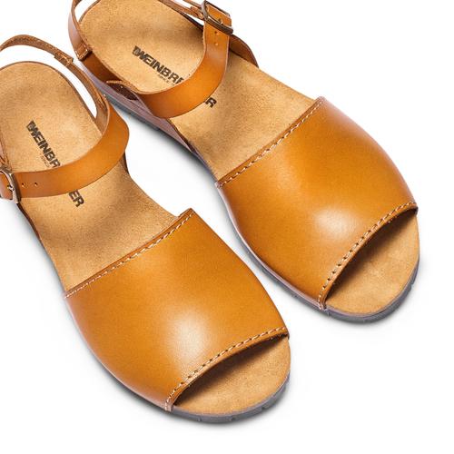 Sandali in vera pelle weinbrenner, marrone, 564-3161 - 26