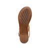 Sandali Flat bata, marrone, 564-3210 - 19