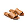 Ciabatte flat in pelle bata, marrone, 564-3146 - 16