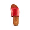 Ciabatte Flat in pelle bata, rosso, 564-5146 - 17