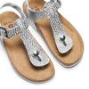 Sandali infradito da bambina mini-b, bianco, 361-1250 - 26
