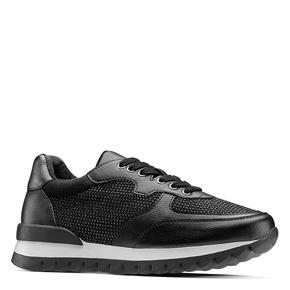 Sneakers con strass bata, nero, 541-6312 - 13