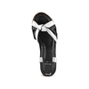Sandali in vera pelle bata, nero, 564-6525 - 17