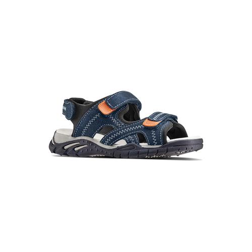 Sandali in pelle da bambino mini-b, blu, 363-9244 - 13