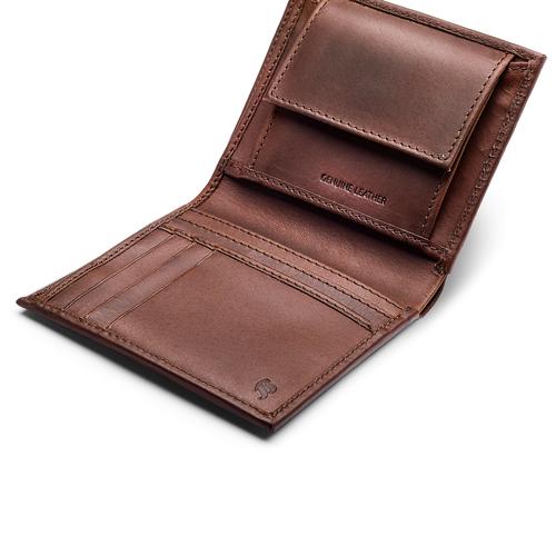 Portafoglio da uomo in pelle bata, marrone, 944-4126 - 15