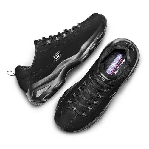 Sport shoe  skechers, nero, 501-6128 - 26