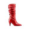 Stivali Bata in vera pelle bata, rosso, 794-5186 - 13