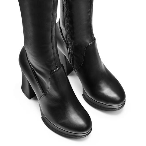Boot  bata, nero, 791-6292 - 17