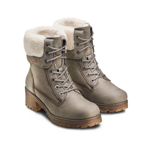 Boot  weinbrenner, grigio, 696-2207 - 16